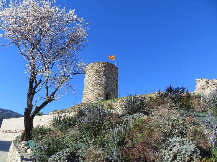 """The """"Castell de La Roca"""" in the February sunshine"""