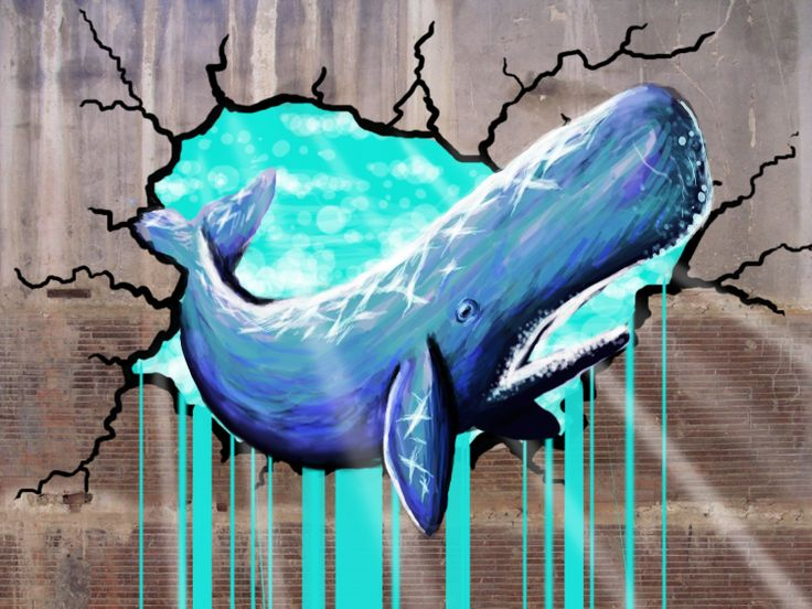 painted a whale on a wall in photoshop https://www.facebook.com/pages/Bango-Skank/360778760675199