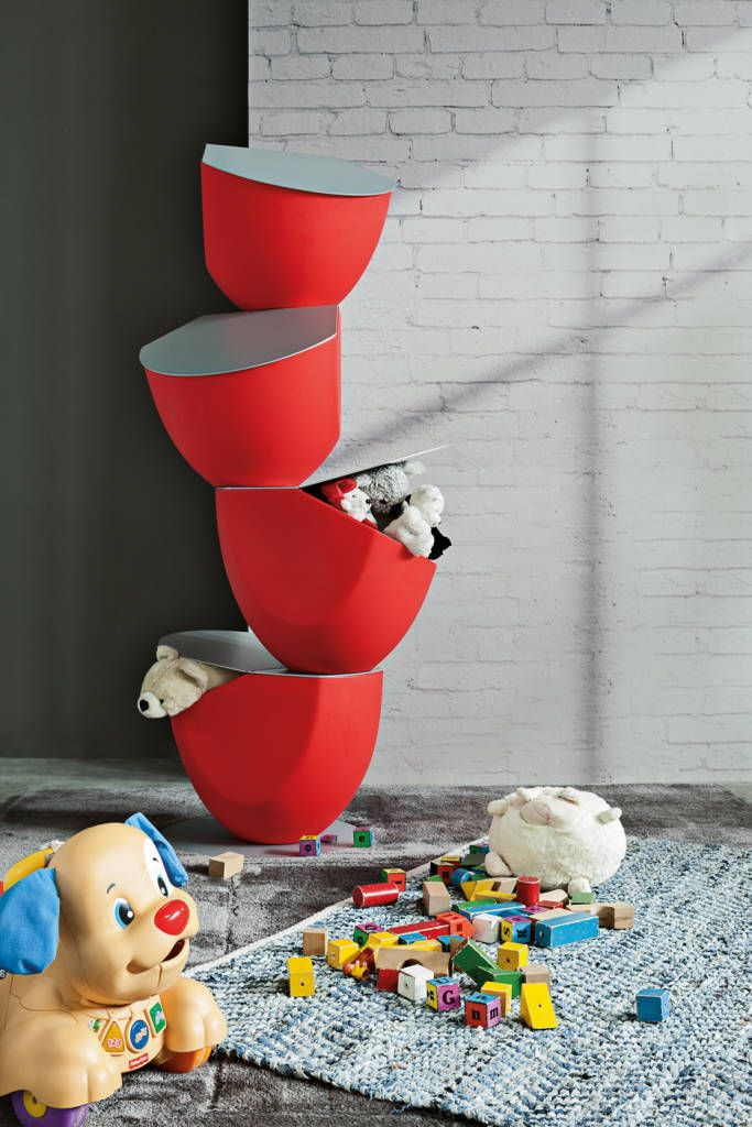 Designerskie kontenerki dla dzieci Ecovo | Ronda Design (do BandIt Design)