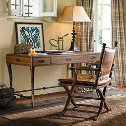 Ernest Hemingway Furniture Collection  LOVE THIS DESK--would love to find a home for it in my loft!!