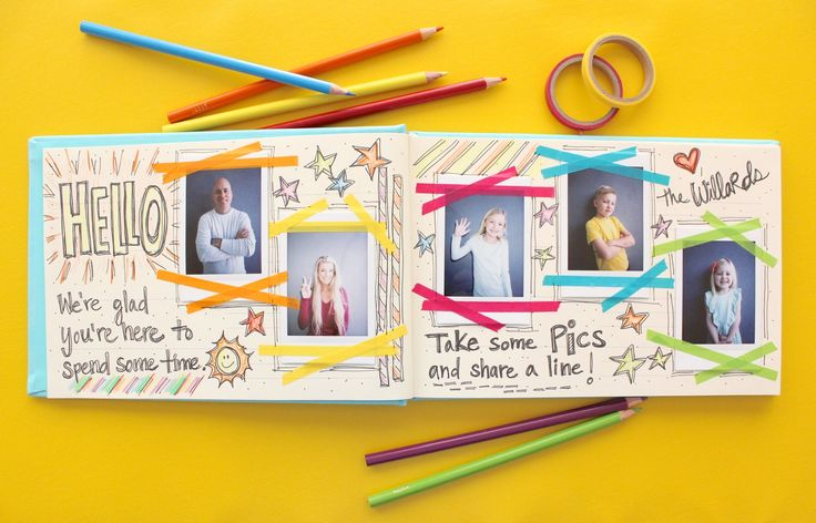 Creating a guestbook for your hoome using instax