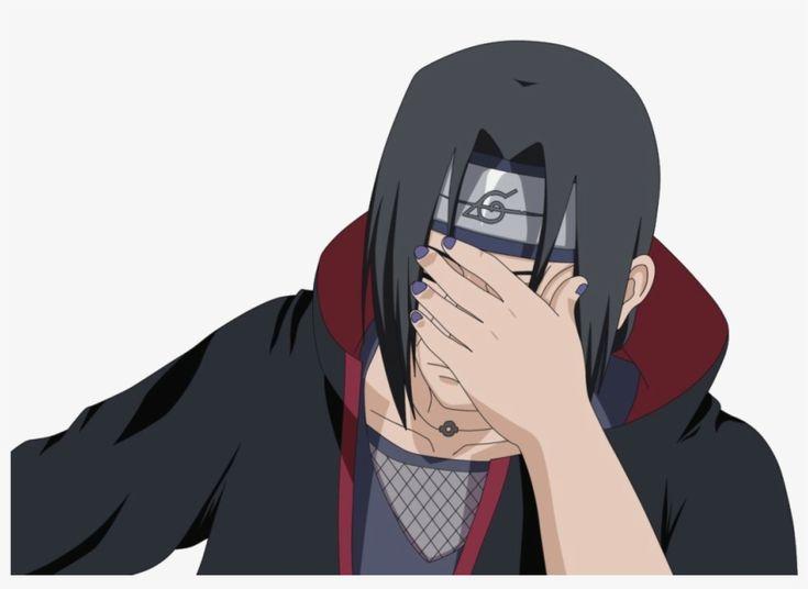 Anime Facepalm Png Itachi Itachi Uchiha Anime Meme Face
