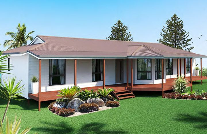 Ibuild Kit Homes Springwood 4 Bedrooms Kit Homes Outdoor Structures Outdoor Decor
