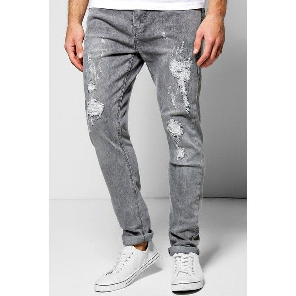 25  best ideas about Grey ripped jeans mens on Pinterest | Work ...
