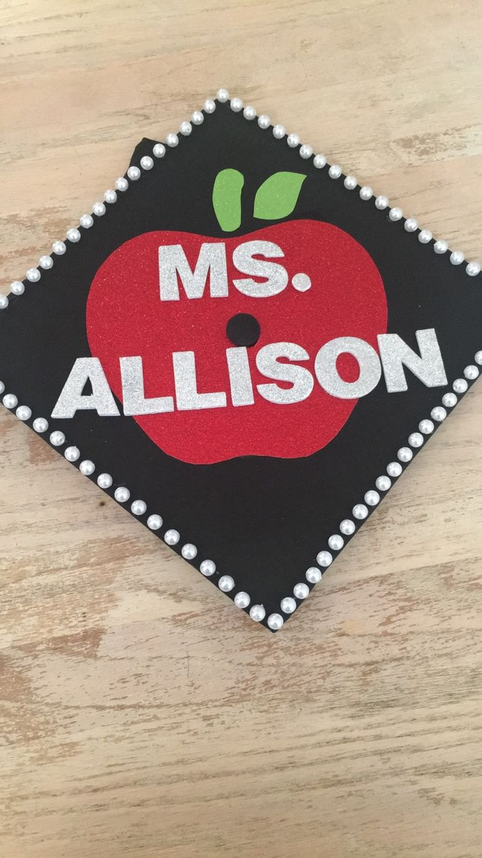 Decorating graduation cap ideas for teachers - Teacher Graduation Cap