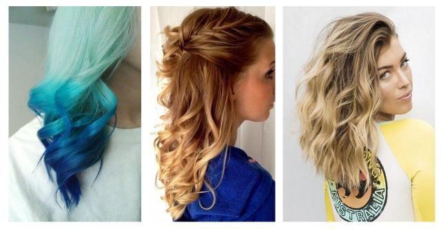 Naturalnie kręcone włosy - modne upięcia