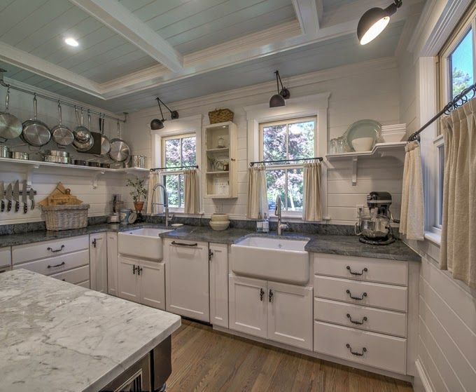 Oh to live in a quintessential Cape Cod beach town! This beautiful home located in Osterville, Massachusetts was recently completely remodeled, and is now for sale! The gourmet kitchen with the blu…