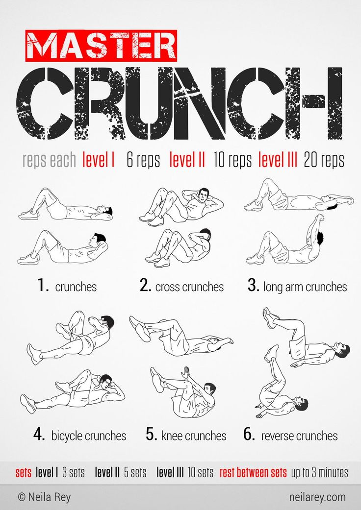 Master Crunch Workout