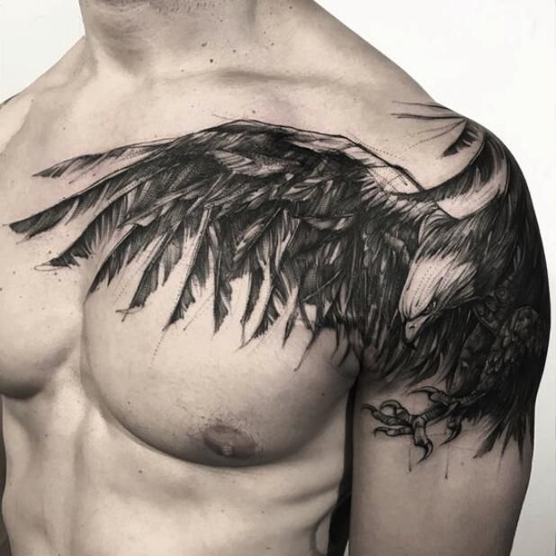 Awesome Sketch Tattoos Designs And Ideas For Men And Women Fake Tattoos Temporary Tattoos Cool Chest Tattoos Tattoo Gallery For Men Chest Tattoo Men