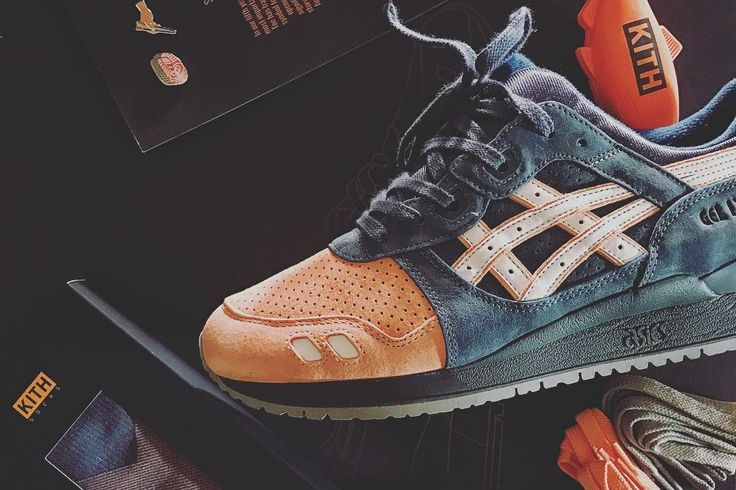 Ronnie Fieg x Asics Gel Lyte III Salmon Toe 2.0 2016 (by