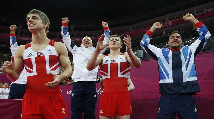 Great Britain wins its first Olympic gymnastics medal in a century as the Brits take the Bronze in the Men's Team final.