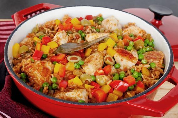 Cuban arroz con pollo recipe.  ..tasteofcuba.com.  great place for Cuban recipes