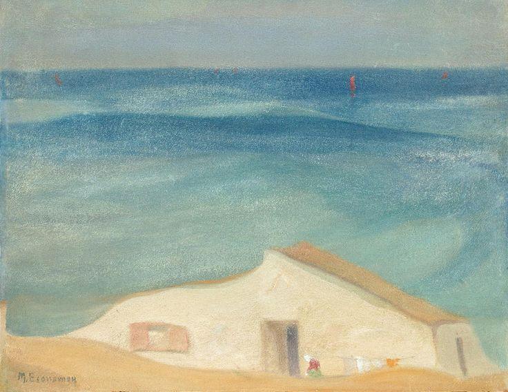 .:. Οικονόμου Μιχαήλ – Michail Oikonomou [1888-1933] House by the sea