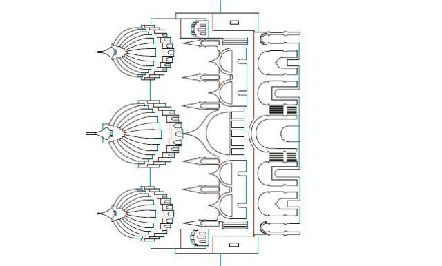 Шаблоны киригами - Сан Марко