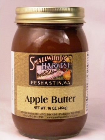 Apple butter on homemade biscuits. Nothing better....