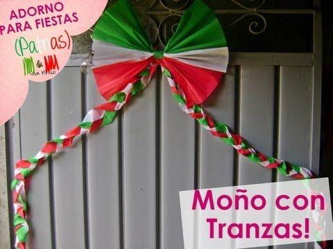 Abanico Tricolor | Fiestas Patrias | PumitaNegraArt - YouTube