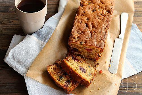 La recette du vrai Cake anglais aux fruits confits | Emilie and Lea's Secrets