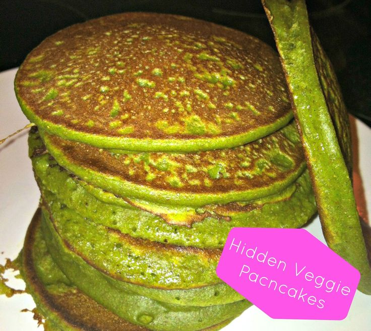 Want to get your toddler to eat more veggies? Try these Hidden Veggie Pancakes for a yummy, yet healthy, meal!