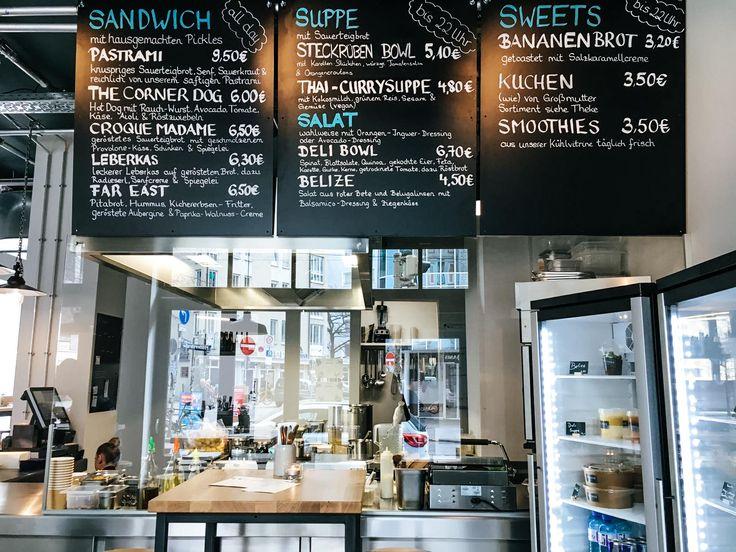 The Corner Deli Bar: Feelgood Food in der Müllerstraße