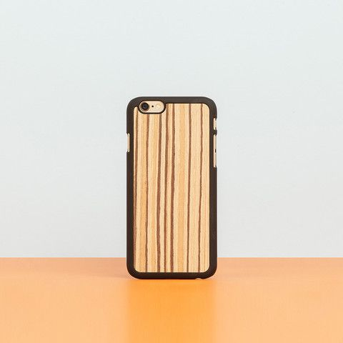 "Cover iPhone ""Zebrawood"""