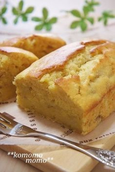 ♥しっとり美味♥ ヨーグルトバナナケーキ
