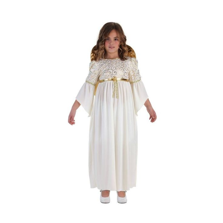 disfraz de angel querubin infantil