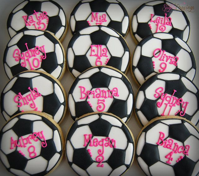 Alexis Soccer cookies (2)-1 | Flickr - Photo Sharing!
