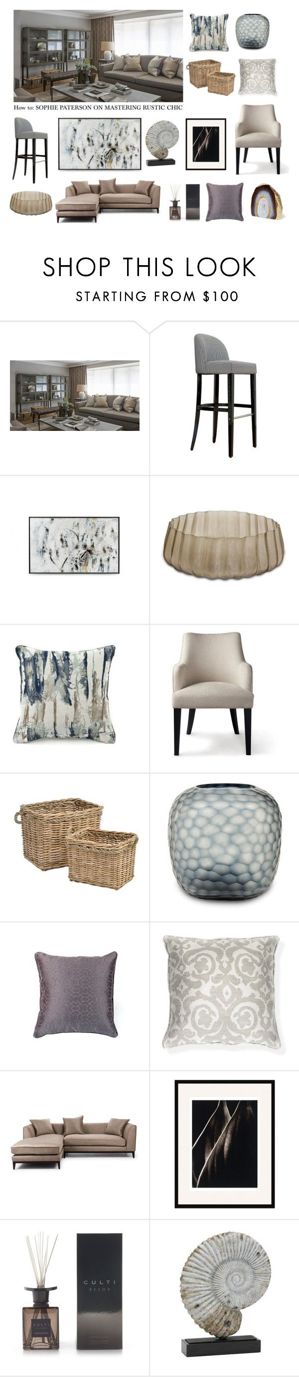 """How to: Sophie Paterson on Mastering Rustic Chic"" by luxdeco ❤ liked on Polyvore featuring interior, interiors, interior design, home, home decor, interior decorating and rustic"