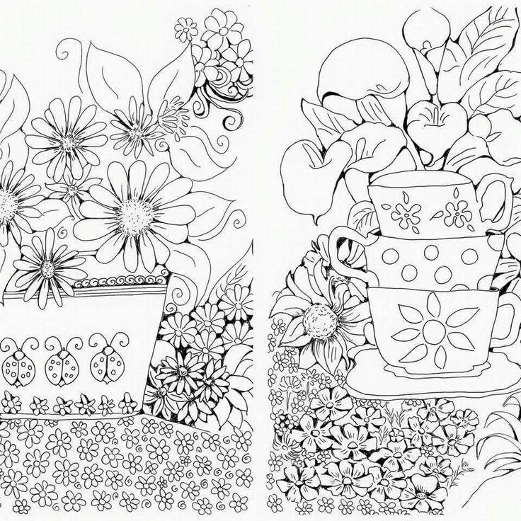 Illustrations in pen