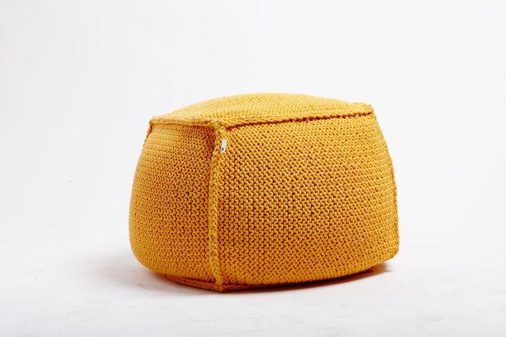Pufy bawełniane robione ręcznie na drutach http://dwiebaby.pl/uff-puff-pufy/