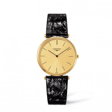 Longines La Grande Classique Gold Quartz Mens Watch L4.709.2.32.2