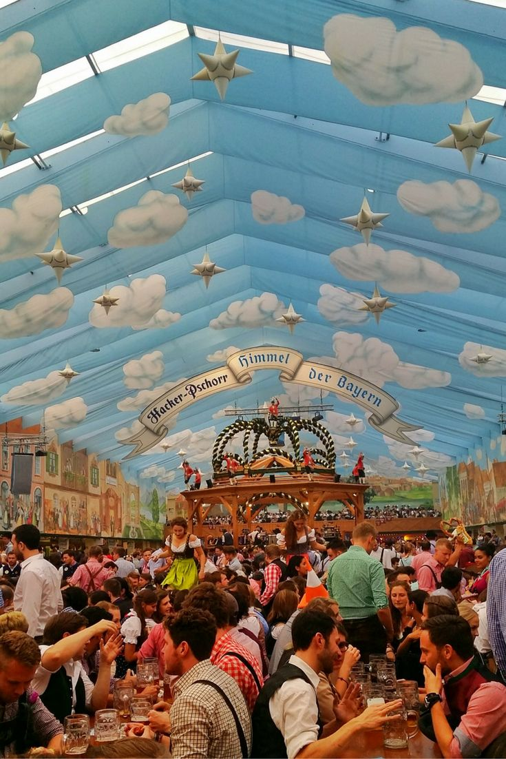 Oktoberfest is the world's largest festival attracting over 6.4 million visitors!The name is slightly misleading though as the 16-17 day festival is held at the end of September and ends the first week in October. Although traditionally held in October - hence the name, it was moved to September when the weather was warmer. Here is everything you need to know.