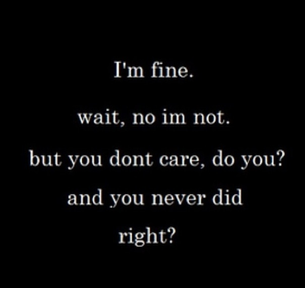 Care For Him Quotes: Do You Care? I Know U FUCKIN See Me. Why Don't Say