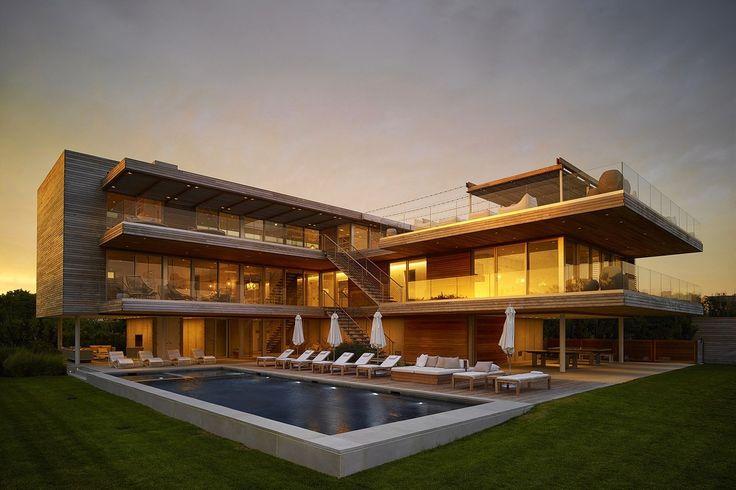 Особняк с террасами на берегу океана - Дизайн интерьеров | Идеи вашего дома | Lodgers