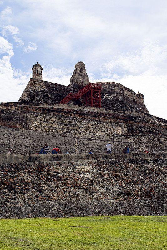 Castillo de San Felipe, Cartagena #Colombia | Flickr - Photo Sharing!