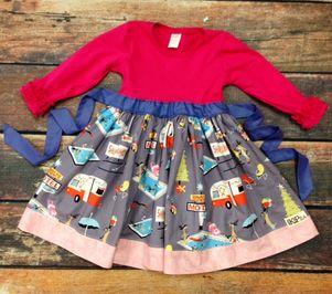 KPea Christmas Vacation Ella Style Dress - 11.05.2014 (2t)