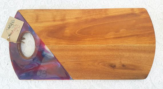 Check out this item in my Etsy shop https://www.etsy.com/au/listing/494990243/handpainted-acacia-wood-resin-cheese