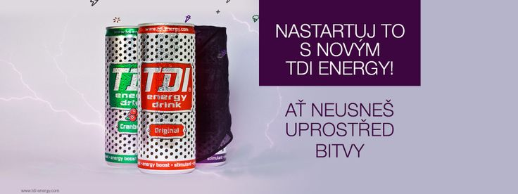 Promo TDI Energy drink - header