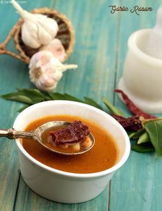 Garlic Rasam, a rasam that imbibes the goodness of garlic, this is good for digestion as well as for general well-being. Make this rasam at least once a fortnight and enjoy its flavour along with its health benefits.