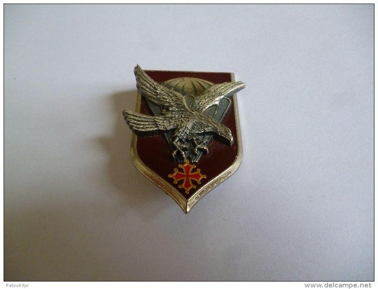 Insigne Parachutiste 11e DIVISION PARACHUTISTE (2) - Armée De Terre