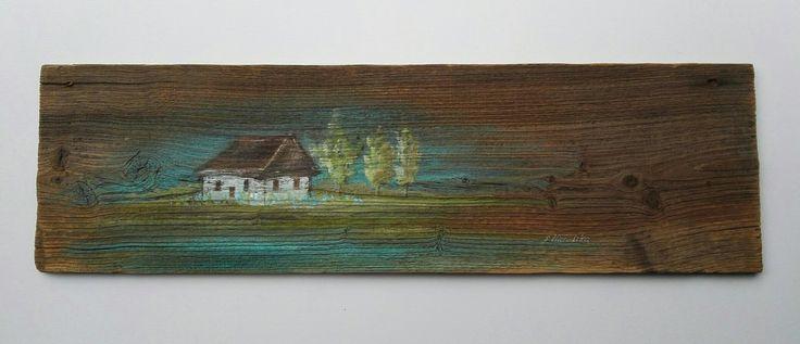 Obrazy olejne na starych deskach, mazurskie klimaty Sylwia Michalska, www.artpracownia.wordpress.com
