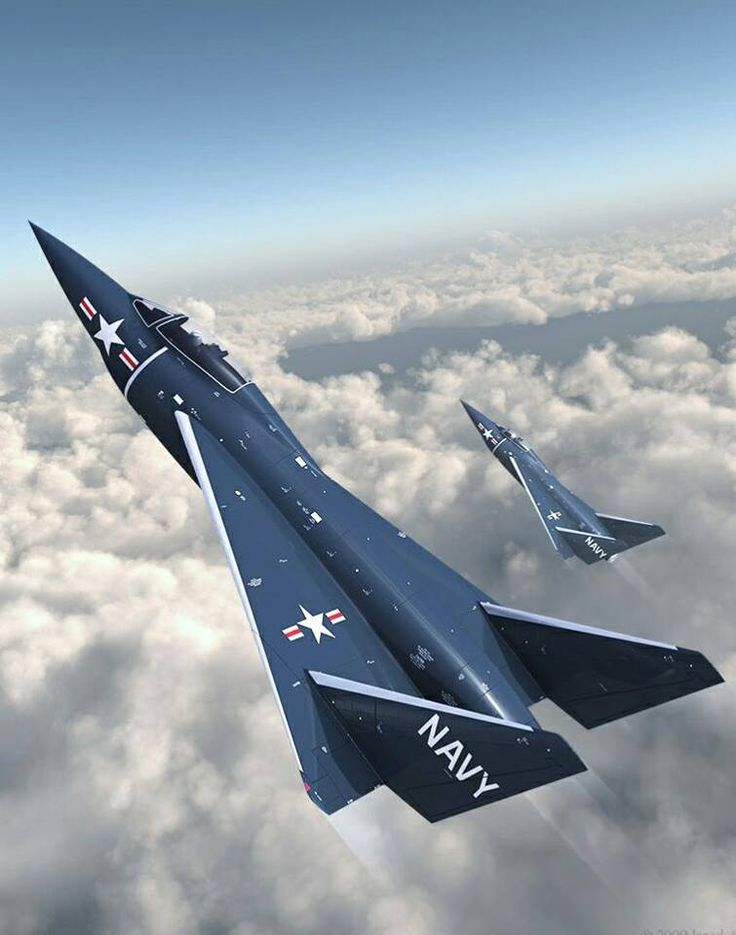 "McDonnell Douglas ""Model 60"" Navy Fighter Delta Wing Alternative to the ""Model 5"" F3H Demon."