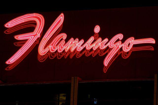 Flamingo Hotel Neon Sign_8529 by Stephen Wilcox – Jetwashphotos.com, via Flickr