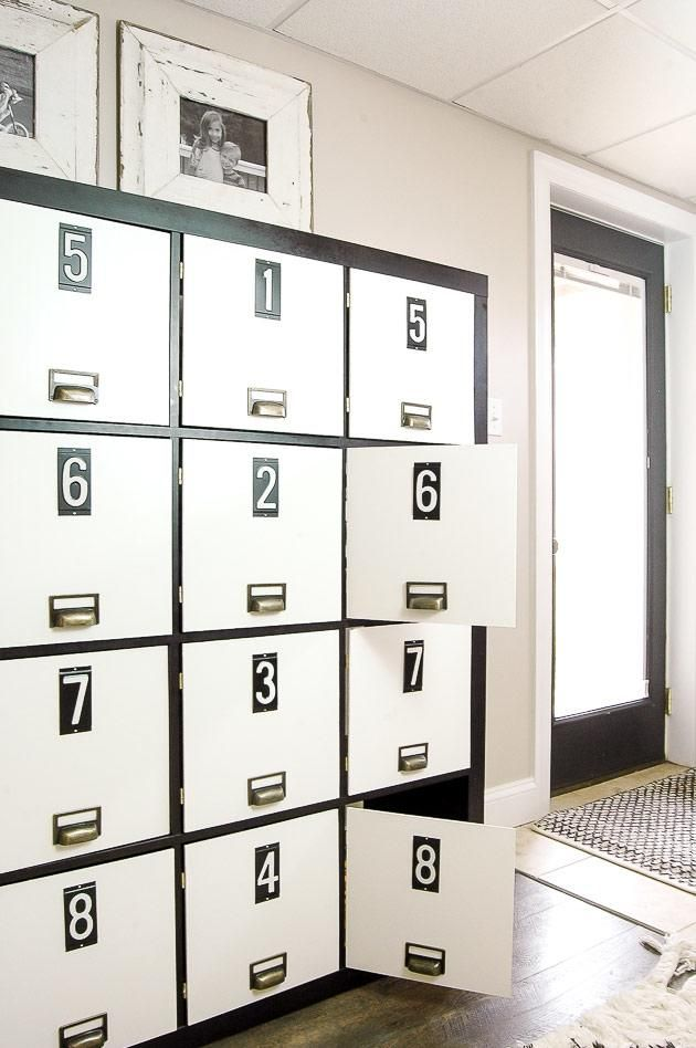 See 20 of the best Ikea Kallax Hacks ideas and the different ways you can DIY them for your home. I love this fabulous farmhouse ikea hack. Turn a plain kellax into a storage locker!