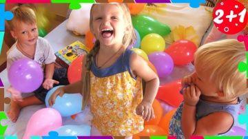 Bad Baby Вредные Детки, Шарики, Сюрпризы Пластиковые Игрушки Для Детей Crazy Ball Pit in House Prank http://video-kid.com/20784-bad-baby-vrednye-detki-shariki-syurprizy-plastikovye-igrushki-dlja-detei-crazy-ball-pit-in-hou.html  Bad Baby Вредные Детки, Шарики Сюрпризы Пластиковые Игрушки Для Детей Crazy Ball Pit in House PrankВредные детки и много шариков, в которых спряталась мама! Детки играют и получают сюрпризы!Привет всем! Мы Святик, Аннушка и Дашенька и каждый из нас - маленький…