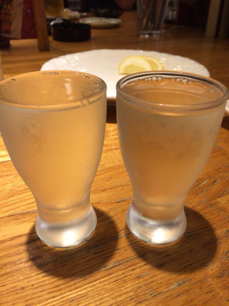 glass of Japanese Sake