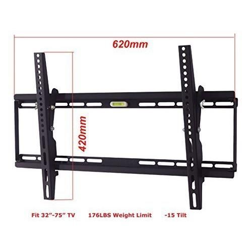 LCD LED PLASMA TV SMALL TILT WALL MOUNT, SCREEN BRACKET,TILT 15, 32 40 42 46 50 55 60 65 RCA HISENSE LG SAMSUNG Free shipping on orders over $35.