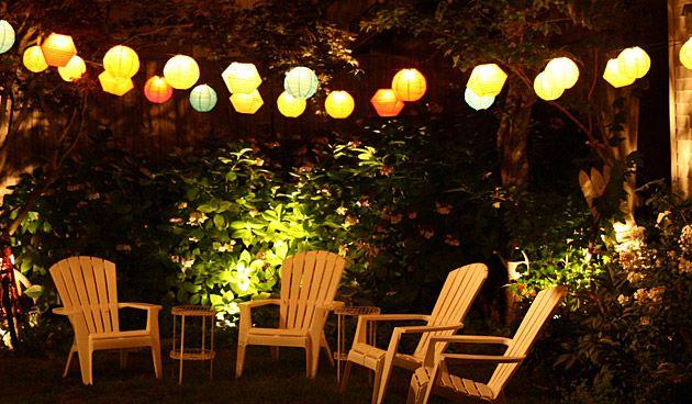 Verlichting voor een tuin als een huiskamer - Tuinseizoen