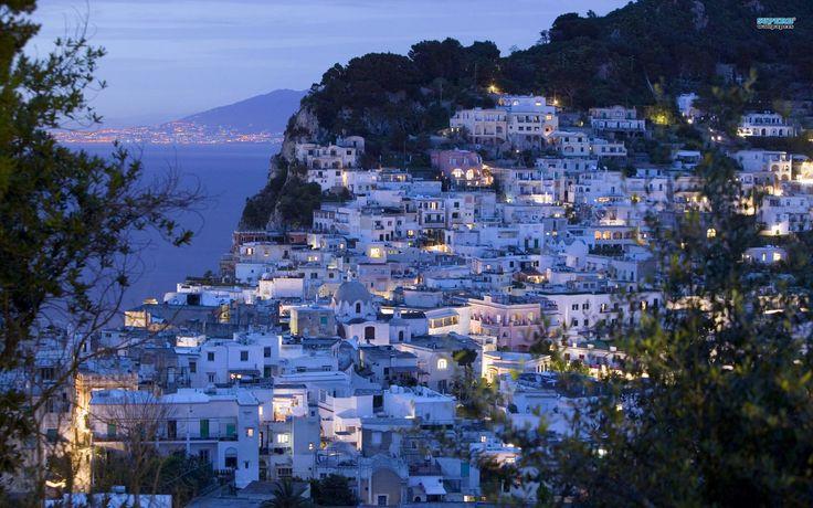 Capri in the Night