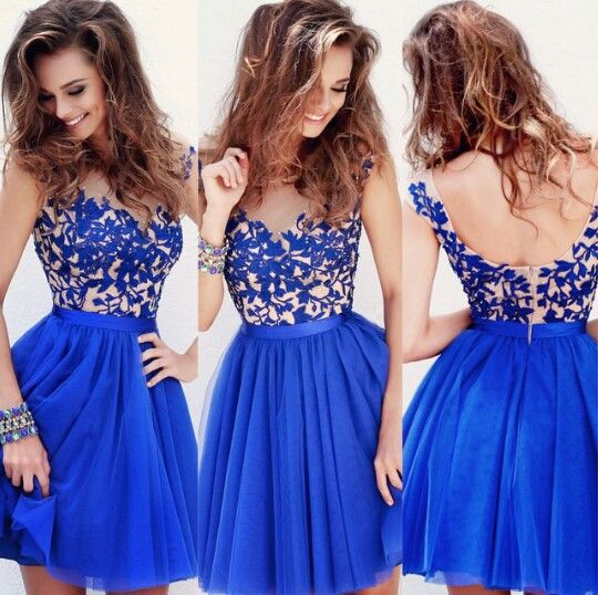 1000  ideas about Blue Homecoming Dresses on Pinterest - Short ...
